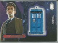2015 Doctor Who The Tenth Doctor Commemorative Tardis Patch Card FREE S/H