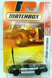 Matchbox 2008 Emergency Ford Crown Victoria El Segundo Police Diecast Car NIP
