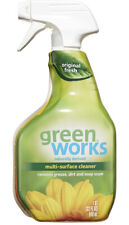Green Works Multi-Surface Cleaner All Natural Cleaning Spray Original Fresh 32Oz
