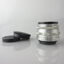 M42 12 Blades Zeiss Tessar red T 2.8/50 Objektiv / lens