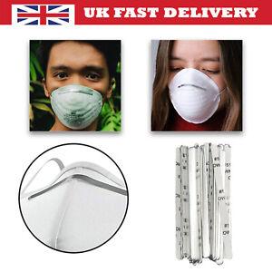 Aluminium Clip Nose Bridge Strips Metal Wire Self Adhesive for Face Mask DIY
