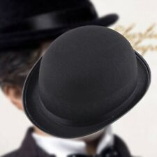 1Piece Melon Bowler Hat Hat Bowler Hat Bowler Hat Felt Hat Chaplin Hat Ridi N6E6