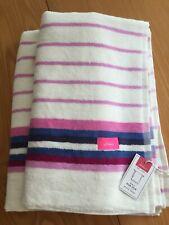 JOULES Bath Sheet Swim Beach Rub-A-Dub Dub Towel BNWT 100% Soft Cotton Striped