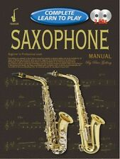 COMPLETO imparare a suonare SASSOFONO MANUALE + CD *