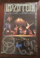 Led Zeppelin Zoso Calendar 1992 ~ New Sealed In Plastic