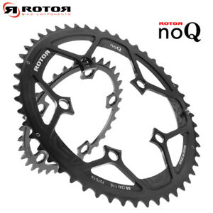 ROTOR ROUND RING NOQ CHAINRING ROAD - BCD110x5 / 52(36) & 53(39)T