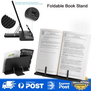 Portable Book Stand Reading Desk Holder Tilt Adjustment Holder Bookstand Folding