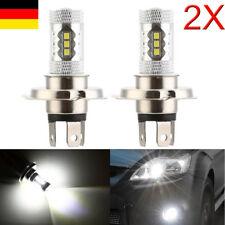 2x 80W H4 LED HID AUTO Lampen Birne NachrüstsatzGLÜHLAMPEN SCHEINWERFER DC12V