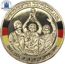 Fußball Medaillen aus Gold von Deutschland