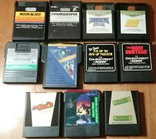 COLECOVISION 11 Rare Game Cartridge Lot: MR DO's CASTLE Sir Lancelot TOMARC THE+