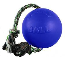 Jolly Pets Romp-n-Roll Ball 4-1/2-Inch, Blue