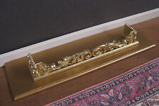 FIREPLACE HEARTH  &  FENDER  SET ~Jim Coates ~ Dollhouse ~ 1:12 scale ~ Room Box