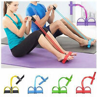 Resistance Gymnastic Band Yoga Latex Exercise Elastic Fitness Tube Workout Bands