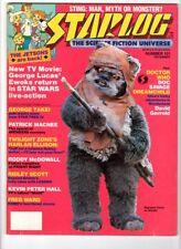 WoW! Starlog #101 Sting! Jetsons! Avengers! Star Trek IV! Doctor Who!