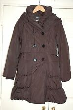 ** New 10 Warehouse Feather & Down Filled Winter Jacket Coat Shawl collar & Hood