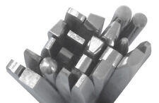 22 Small Chasing Tools Jewelry Making Metal Design Texturing Forming Repoussé 
