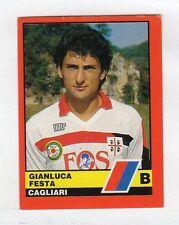 figurina CALCIATORI D'ITALIA VALLARDI 1989-90 NUMERO 422 CAGLIARI FESTA