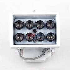 80m Night Vision 8-LED IR Infrared Illuminator Light Lamp 12V for CCTV New Brand