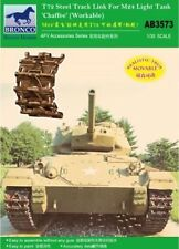 Bronco 1/35 T72 steel track link for M24 light tank chaffee (workable) # AB3573