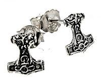 Thorshammer Ohrring 925 Silber Ohrringe Ohr  Paarpreis Sterling Silber Nr. 57