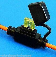 Universal Mini - Sicherungshalter mit Kabel und Kappe