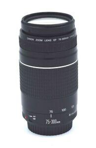 CANON ZOOM LENS EF 75-300mm 1:4-5.6 III *Lightly Used*