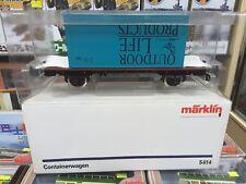 Marklin 1 Gauge #5414 Containerwagen
