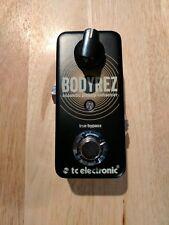 TC Electronic BodyRez Acoustic Processor Guitar Effect Pedal
