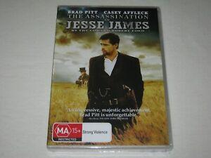 The Assassination Of Jesse James - Brand New & Sealed - Region 4 - DVD