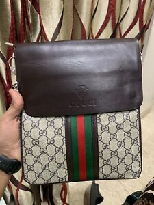 Gucci Side Messenger Bag GG Classic Strap (1A) High Demand Product