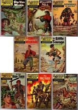 8 Classics Illustrated #12, 101, 126, 127, 137, 139, 148, 156 HISTORICAL TITLES