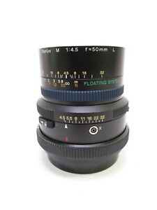 """Mamiya RZ67 """"M"""" ULD 50MM F4.5 L Ultra Wide Angle Lens With Floating Element, EC"""
