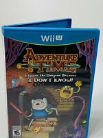 Adventure Time Explore The Dungeon Because I Don't Know! Nintendo Wii U Tested