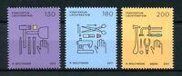 Liechtenstein 2017 MNH Trades & Crafts SEPAC Stonemason Goldsmith 3v Set Stamps