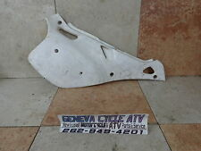 89 YAMAHA  WR250 WR 250 OEM Right REAR SIDE number Plate Dual Sport Bike MX GNCC