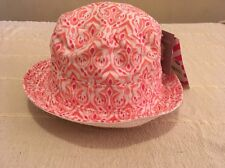 New !! With Tags Pumpkin Patch Baby Girls Sun Hat Size XXS 0-6m/ 44cm