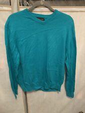 Pendelton Mills Mens Large Green Light Wool Sweater