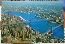 United States New York City Lower Manhattan from World Trade Center - unposted