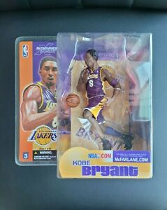 Kobe Bryant NBA Mcfarlane Series 3 Los Angeles Lakers Hall Of fame New