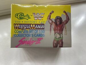 1990 Classic WWF The History of Wrestlemania Complete Set of 150 Cards