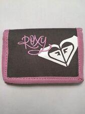 Roxy Logo Polyester Nylon Tri-Fold Wallet