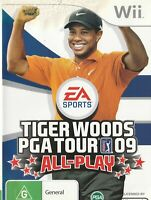 Wii Game - Tiger Woods - PGA Tour 09 - All-Play