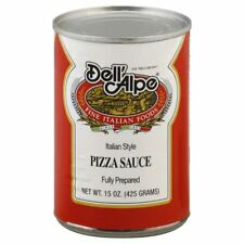 DELL ALPE, SAUCE PIZZA, 15 OZ, (Pack of 12)