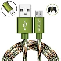 Camo Micro USB Fast Charge Cable - PlayStation4 Slim PS4 Dualshock Controller