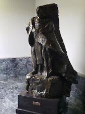 "Harry Jackson, ""The Seeker"" Bronze Sculpture"