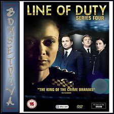LINE OF DUTY - COMPLETE SERIES 4 *** BRAND NEW DVD ***