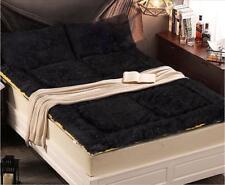 Black Folding Soft Warm Comfort Home Bedding Double Bed Mattress 150*200CM