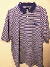 Ucla Classic Men's Polo Shirt Ashworth Striped - Large (Pre-Owned, Good Cond.)