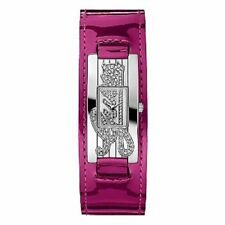 Guess Mini Autograph Silver Watch Leather Strap Splashproof RRP £109