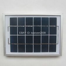 6V 340MA 2W solar panels solar power battery solar module charge led light new